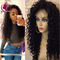 Buy 8a lace front human hair wigs brazilian virgin afro kinky curly baby glueless full black women at aliexpress - chinaprices.net