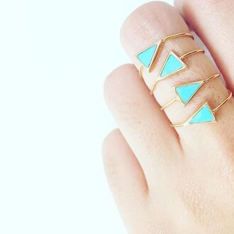 jewels eight by gjenmi jew eight by gjenmi jewelry ring stacked jewelry stacking rings turquoise revolve clothing turquoise jewelry