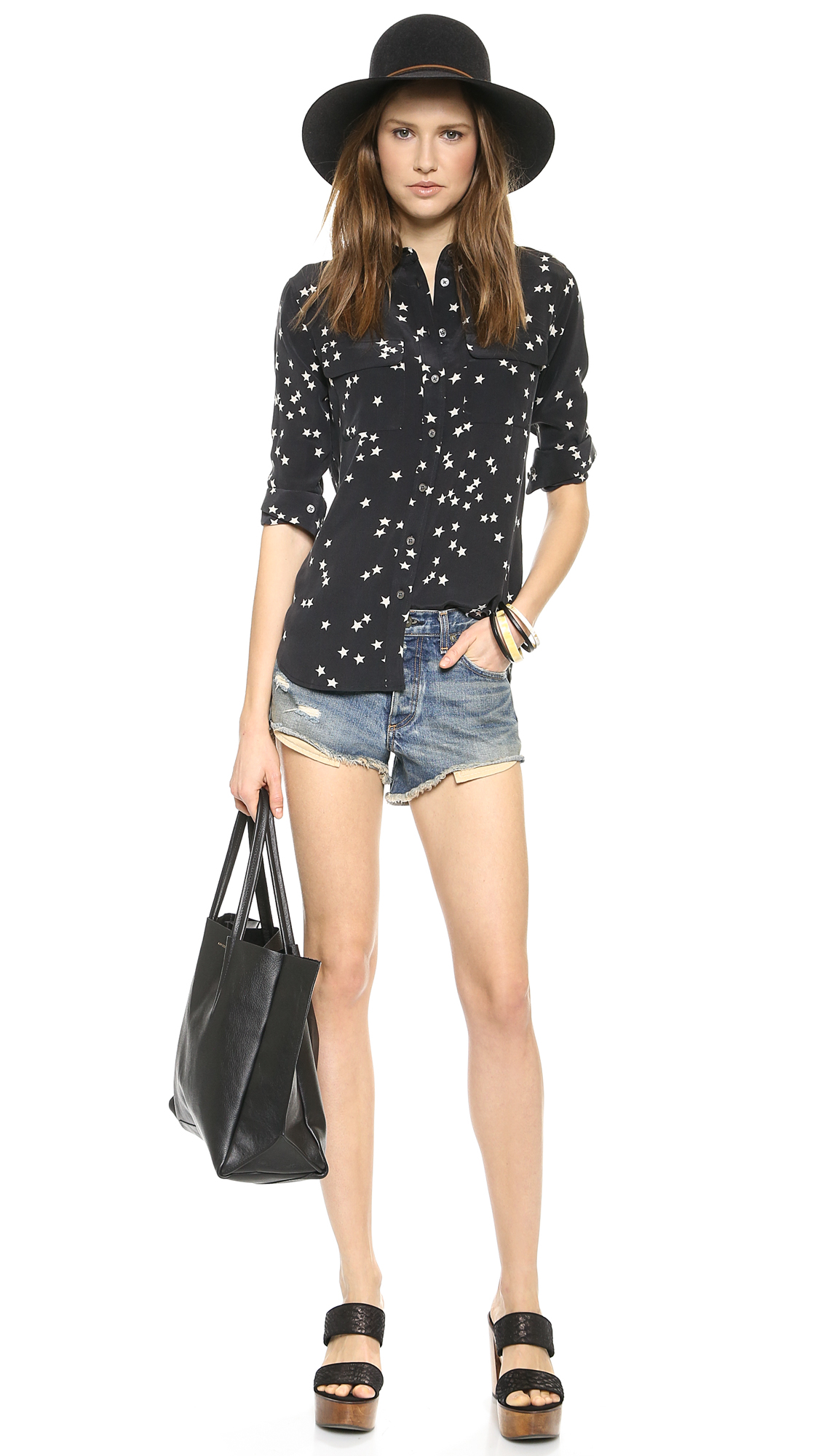 Equipment Slim Signature Blouse | SHOPBOP SAVE 25% use Code:FAMILY25