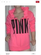 sweater,pink,pink by victorias secret,victoria's secret,chanel,black