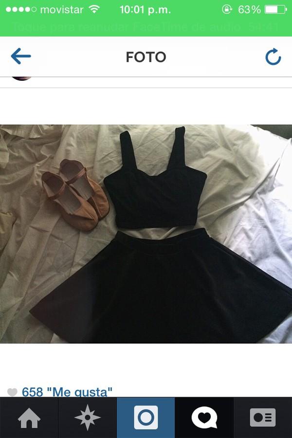 top crop tops black blouse