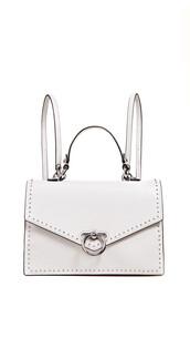 backpack,white,bag