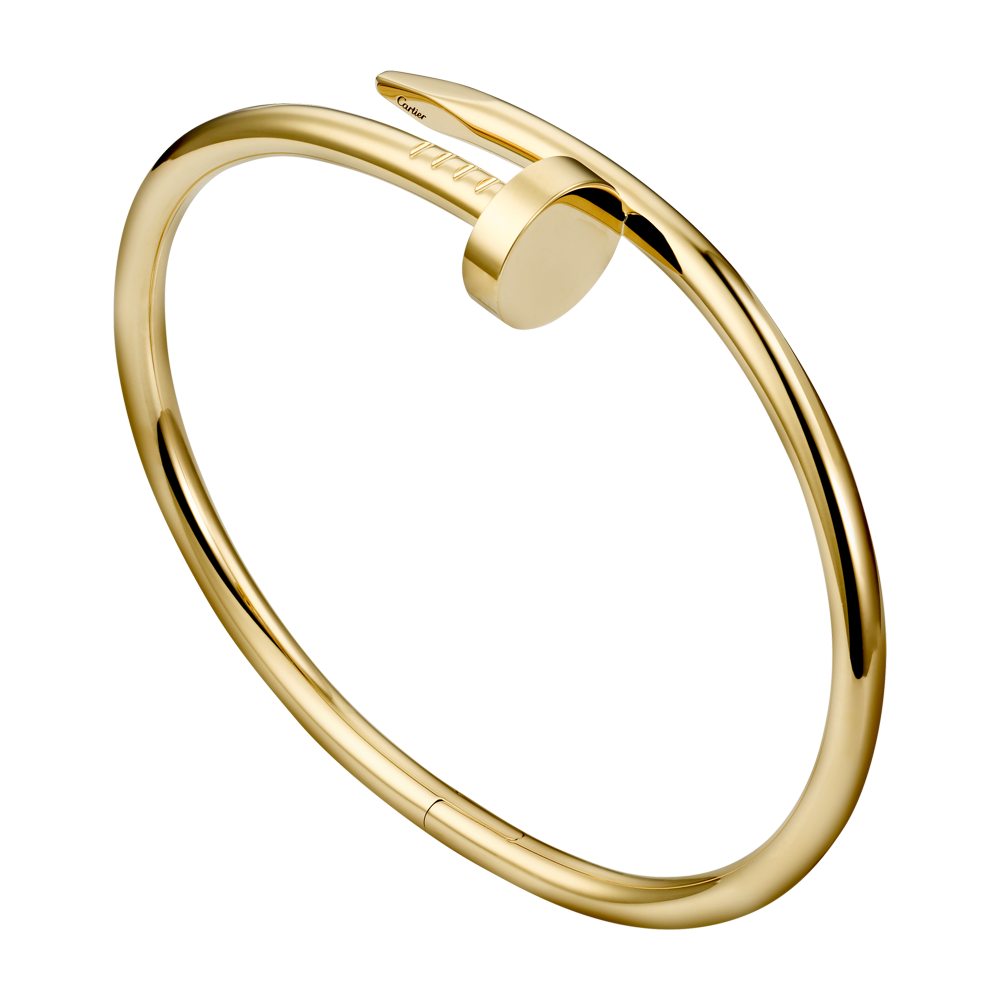 Juste un Clou bracelet - Yellow gold - Fine Bracelets for men and for women -  Cartier