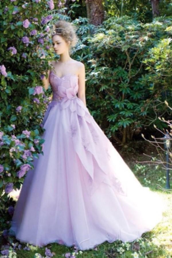 Enchanting Fairytale Prom Dress Illustration - Wedding Dress Ideas ...