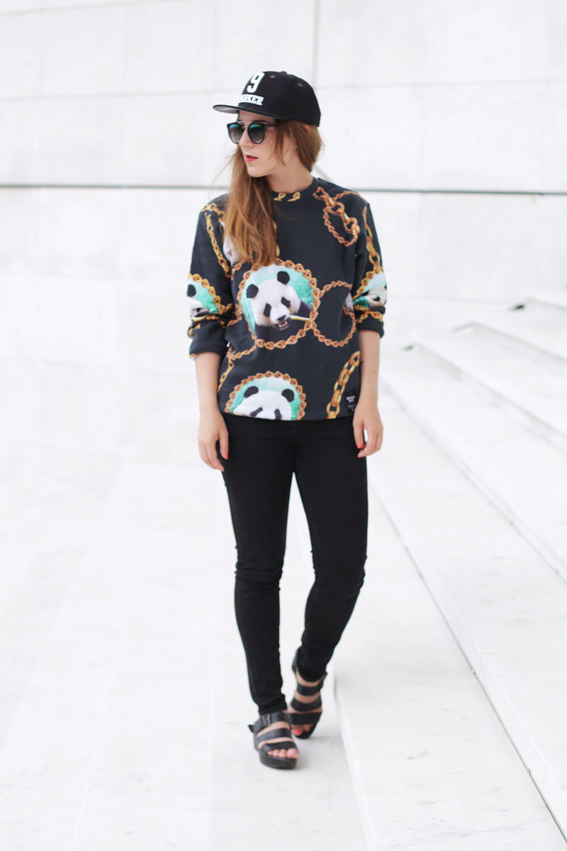 Panda Rocks - Elodie in Paris