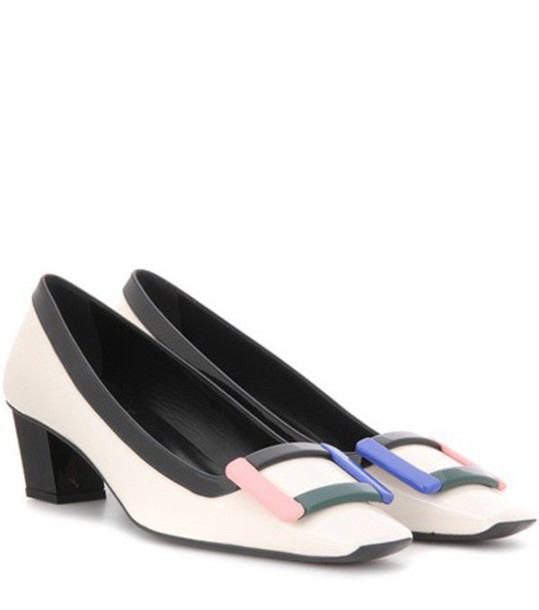 Roger Vivier pumps leather white shoes