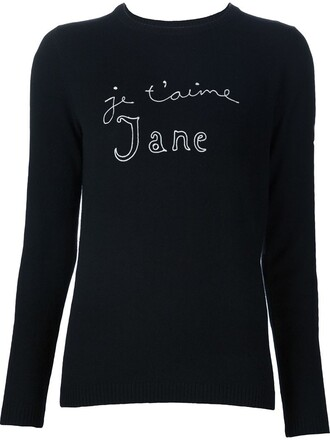jumper black sweater