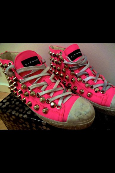 shoes studded shoes sneakers