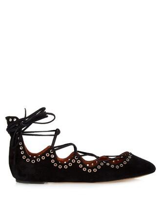 ballet flats ballet flats lace black shoes
