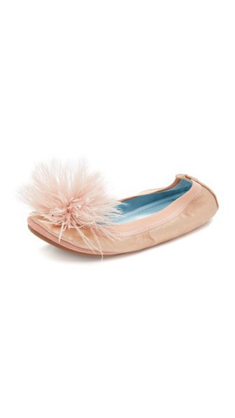 rose gold rose flats gold blush shoes