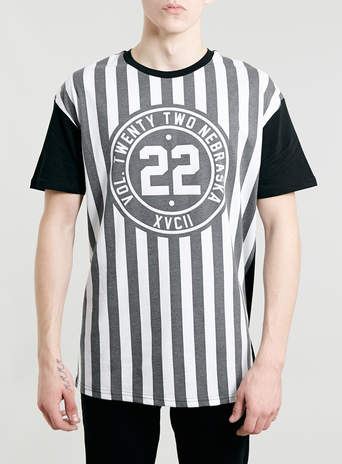NEBRASKA 22 SKATER T-SHIRT - View All Sale - Sale - TOPMAN