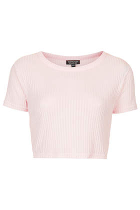 Rib Crop Tee - Crop Tops - Tops - Clothing- Topshop USA