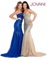 Jovani 1953 - Strapless Long Dress