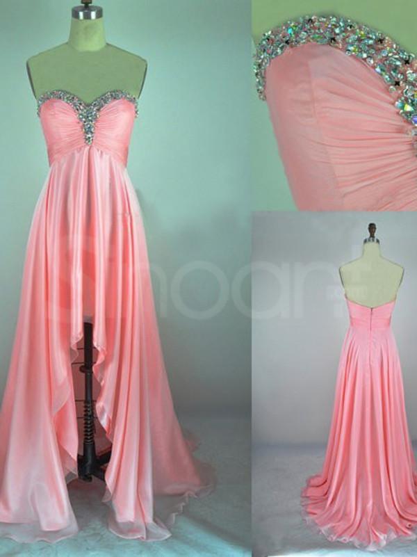 dress a-line chiffon dress