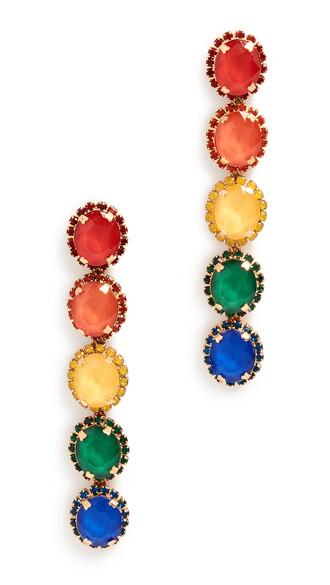 earrings tropical jewels