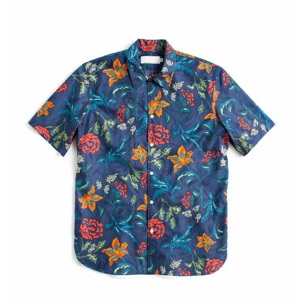 Bf floral print hawaiian shirt