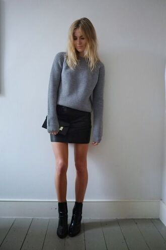 sweater tumblr black winter outfits pinterest