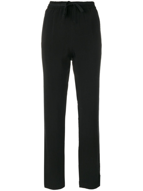 Humanoid - Birdy trousers - women - Cupro/Viscose - XS, Black, Cupro/Viscose