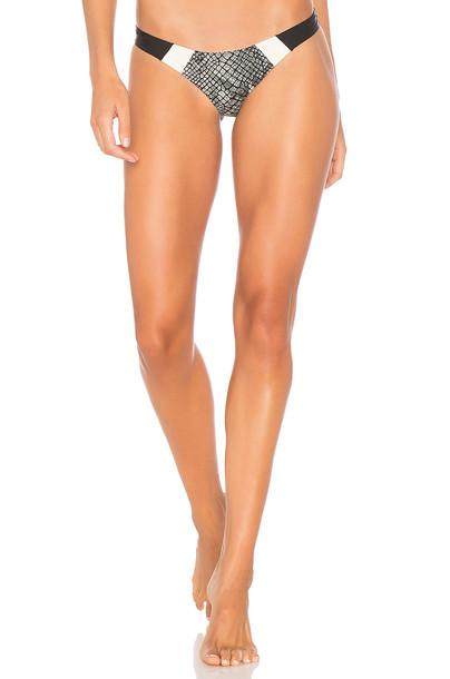 PilyQ bikini black swimwear
