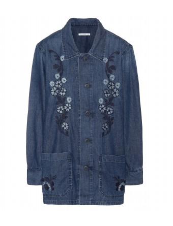 Poppy denim jacket : 001227 ♦ mytheresa.com