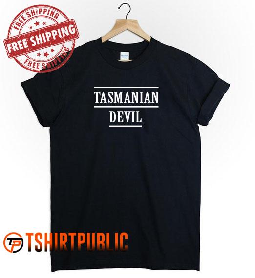 Tasmanian Devil T Shirt Adult Free Shipping - Cheap Graphic Tees