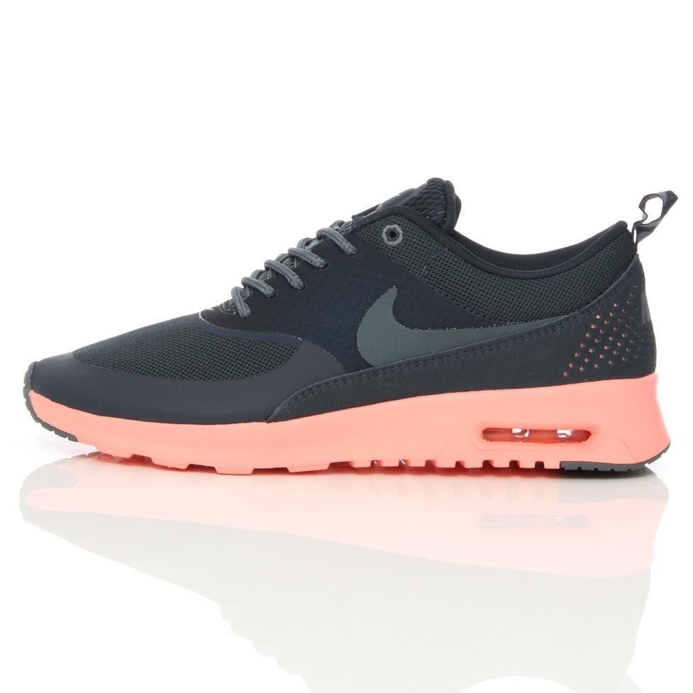 rare nike wmns air max thea navy pink 599409 400 sz 7 5 ebay. Black Bedroom Furniture Sets. Home Design Ideas