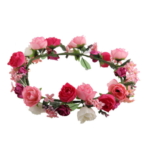 FLOWERS CROWN / back order – HolyPink