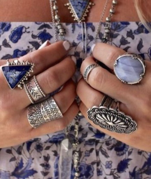 accsesoris beautiful rings oversized