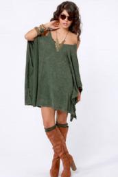 dress,boho,bohemian dress,hippie,forest green