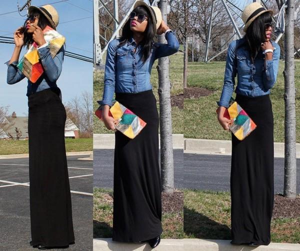 Asher Womens Bohemian Style Elastic Waist Band Cotton