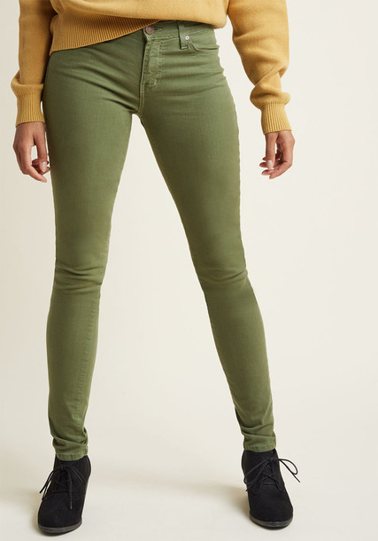 ask300 usa green olive green top