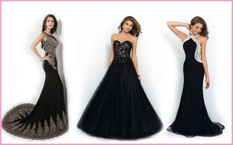dress black dress fashion and style wedding dress wedding clothes wedding