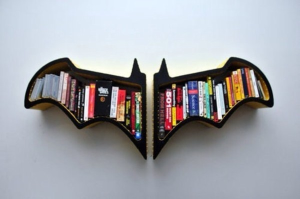 jewels batman shelf batman décoration bag book