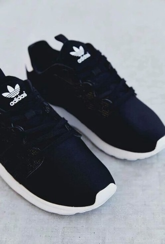 shoes adidas sneakers black