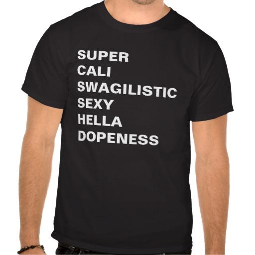 SUPER CALI SHIRT from Zazzle.com