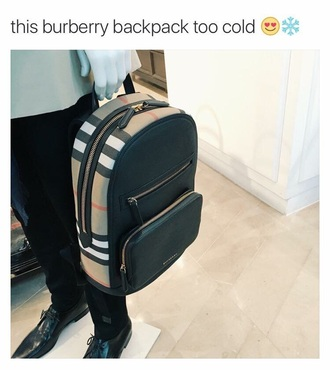 bag burberry bag burberry backpack black