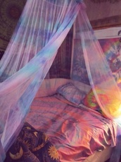 scarf,hipp,hippie,boho,bohemian,colorful,bedding,sheet,sheets,bedroom,duvit,sweater,coat,pattern,bag,home accessory,beds,home decor,tie dye,indian bed spread,accessories,hippie bedspread,boho bedding,bed decor,room decorations
