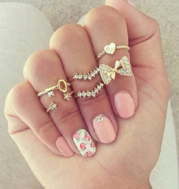 favim journal du com outfit rings by style photos fashionista facebook girl girly image via fashion accessories moda