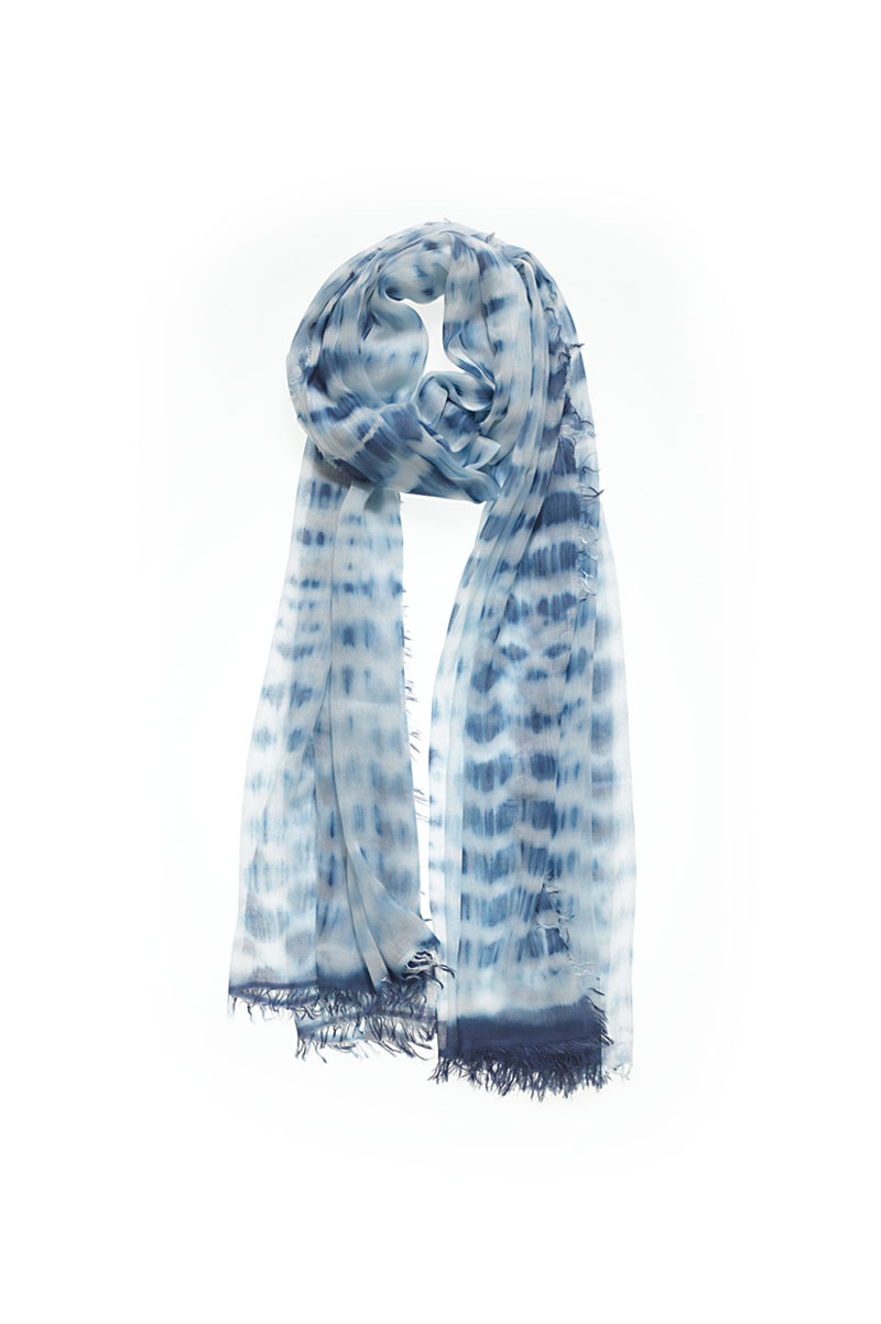 In Vogue Scarf in Electric Blue: Buy Mangrove at CoutureCandy.com