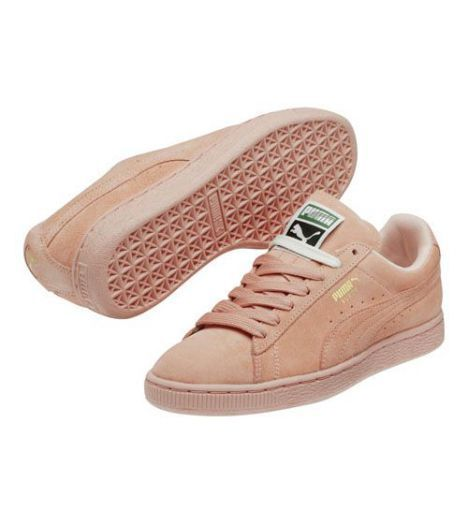puma suede rosa classic pastel pink sneaker women. Black Bedroom Furniture Sets. Home Design Ideas