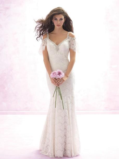 Dress: beach wedding dress, wedding dresses for the beach, lace ...