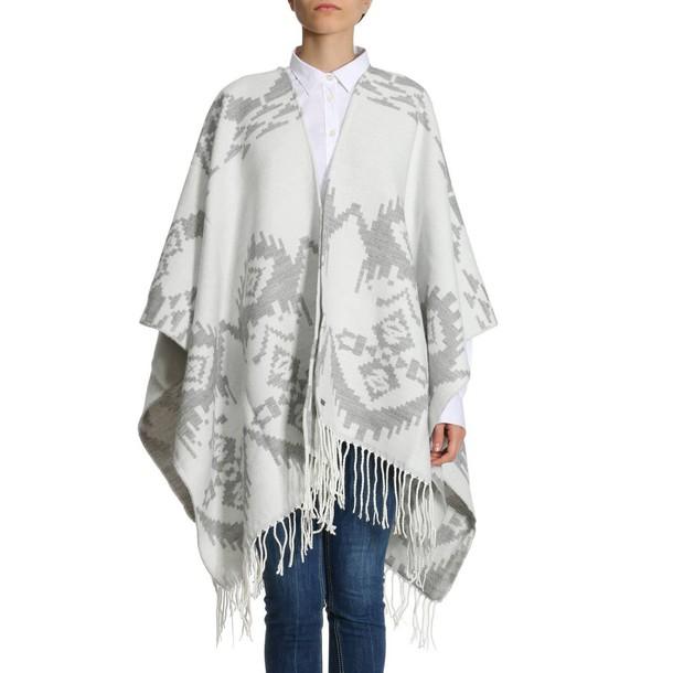Woolrich women scarf grey