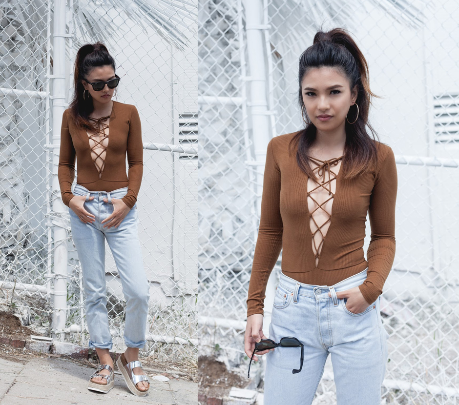 sunday cravings  lace up front – Fashion Agony  6cb0b9f7e