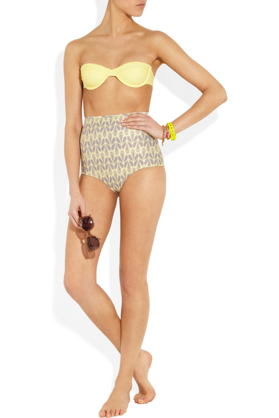 Tori praver kenny underwired bikini top