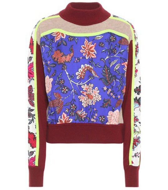 Diane Von Furstenberg sweater silk wool