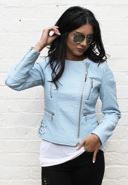Baby Blue Jacket | Outdoor Jacket