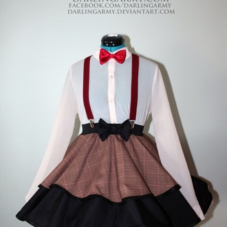 blouse cosplay doctor who white blouse
