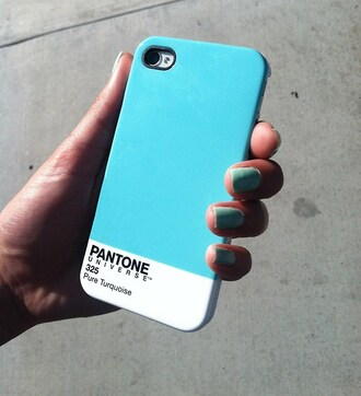 jewels phone cover phone iphone blue love colorful pretty cute pantone 325 pure turquiose sunglasses green
