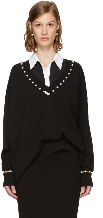 sweater pearl black