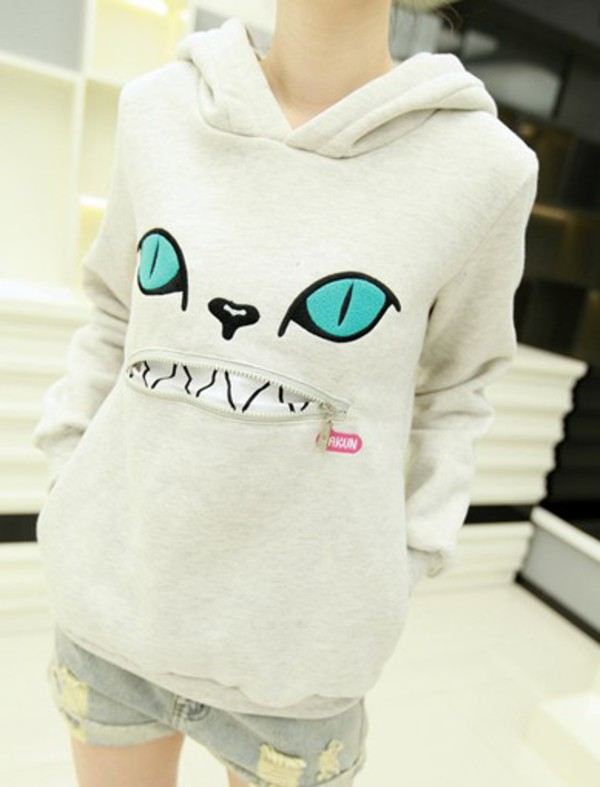 cats kawaii hoodie cats shirt